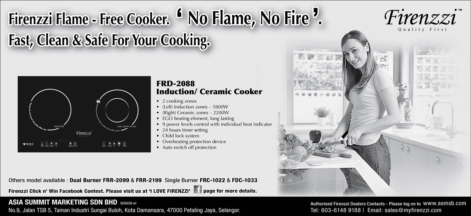 Firenzzi Flame-Free Cooker
